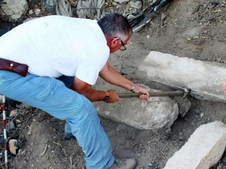 1,700-year-old funerary inscriptions uncovered in Zippori | LVDVS CHIRONIS 3.0 | Scoop.it