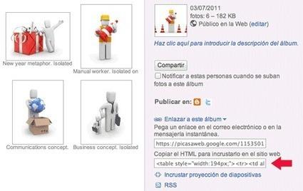 Insertando Álbumes de Picasa en Artículos Joomla - Hosting Joomla | Software libre, web 2.0 y otras cosas | Scoop.it