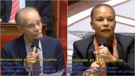 "Suppression du mot ""race"" de la constitution: Christiane Taubira répond à Alfred Marie-Jeanne 