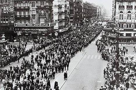 De staking van 1936: hoe werkend België de sociale zekerheid verwekte   De vakbond is nodig. Vandaag meer dan ooit!   Scoop.it