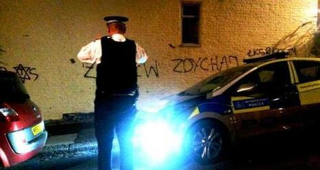 Police appeal after anti-Semitic graffiti sprayed on Tottenham walls | Muswell Hill News | Scoop.it
