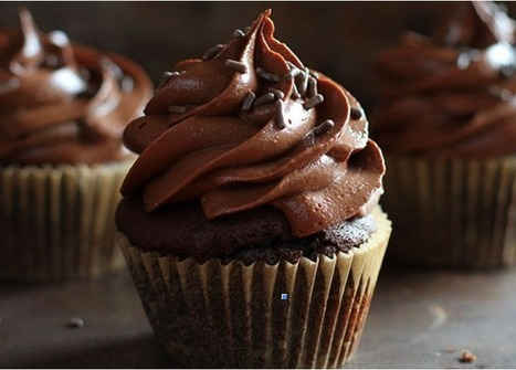 Ultimate Chocolate Cupcakes with Ultimate Chocolate Frosting | Filmnoirliveshere | Scoop.it