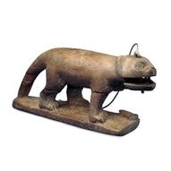Wooden toy cat   Egyptology and Archaeology   Scoop.it