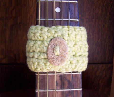 Rock Band Cuff Organic Cotton by BeautifulPurpose on Etsy | Ecofashion | Scoop.it
