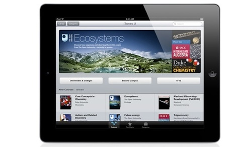 iTunes U Now Lets Teachers Invite Students to Lesson Plans | Curtin iPad User Group | Scoop.it