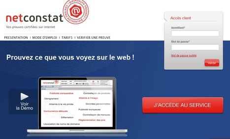 Prouvez sur le Web avec @NetConstat   Engineer Betatester   Scoop.it
