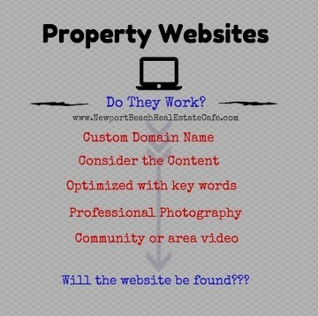 Property Websites | An Effective Marketing Tool | Newport Beach Real Estate | Scoop.it