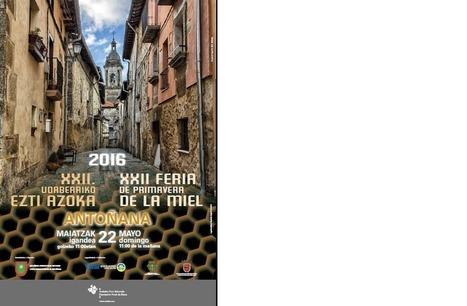 XXII Feria de primavera de la miel. Antoñana | Mendialdea.info | Scoop.it