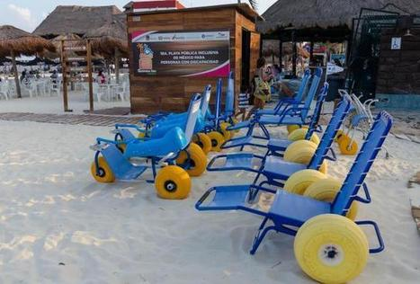 Playa del Carmen Opens Mexico's First Accessible Beach | Riviera Maya Real Estate | Scoop.it