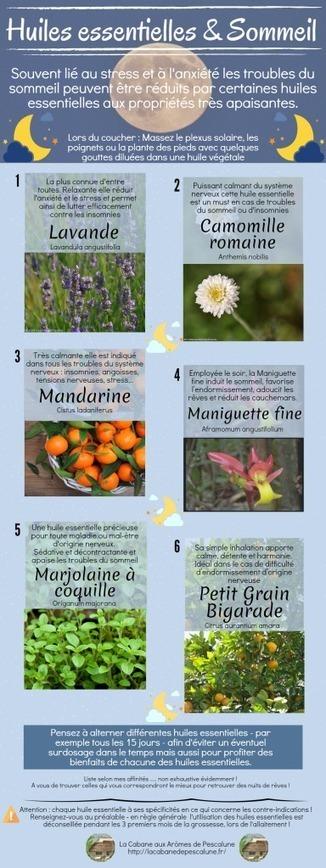 Les huiles essentielles du sommeil | Aromathérapie | Scoop.it