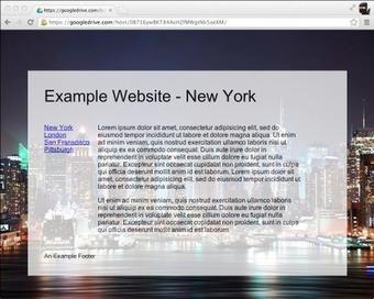 Use Google Drive to Publish Websites   iMatt Solutions   Scoop.it