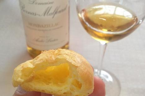 Heavenly Cheese Gougeres and a 22 Year-Old Sweet Wine - by Jameson Fink in Foodista | Bordeaux wines for everyone | Scoop.it
