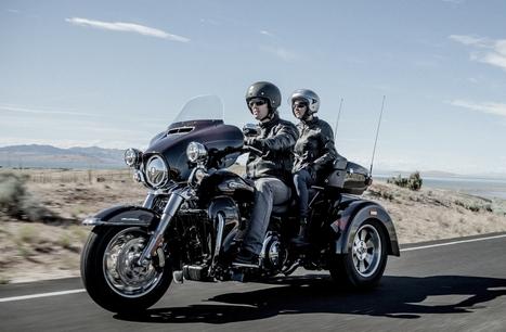 Essai de la Harley-Davidson Tri Glide Ultra - L'argus | Automobile | Scoop.it