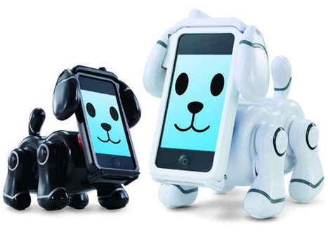 GeeKNewZ.fr » Un chien electronique à tête et cerveau d'iPhone | News Electronique | Scoop.it