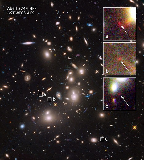 NASA's Hubble Finds Extremely Distant Galaxy through Cosmic Magnifying Glass | Space Stuff | Scoop.it
