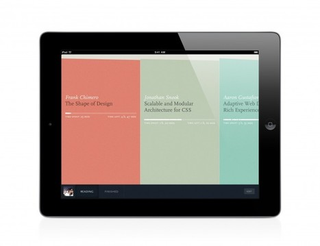 Readmill Introduces Cloud-Based Library And New Export Option | iPads in Education Daily | Scoop.it