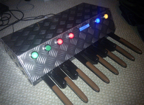 MIDI pedal project looks as good as it sounds | MIDI | Scoop.it