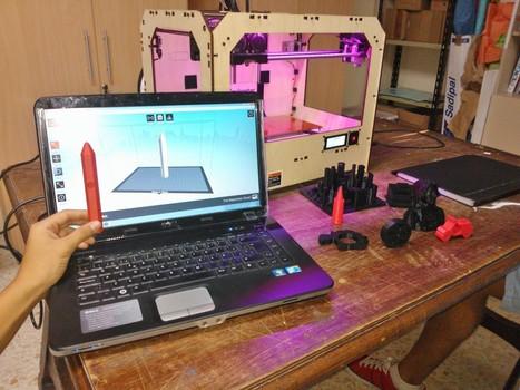 Una impresora 3D en el colegio | Impresora 3D y Educación | Scoop.it