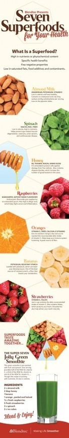 7 Superfoods for Your Health | Health, Nutrition and Supplements | Scoop.it