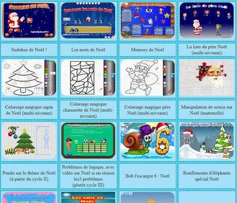 Jeux de noel | La page des enfants | Scoop.it