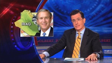 Colbert Wishes Obama Would Learn From Bush On How To Sell Syrian War - Huffington Post (satire) | Bucketlist | Scoop.it