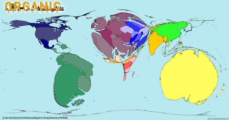 La carte mondiale de l'agriculture bio | Changer la donne | Scoop.it