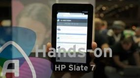 HP Slate 7 hands-on - Video | HP Slate | Scoop.it