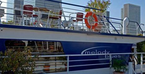 Naviguez au coeur de Paris, dans un esprit Yacht Club, à bord du Mélody Blues. | Hospitality Sur et Sous l'eau | Scoop.it