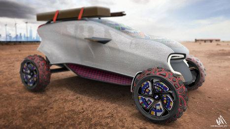 BMW's 3D Printable Concept Car - 3D Printing Industry   impression 3D   Scoop.it