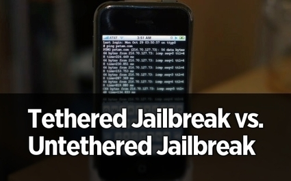 Get to Know What is the Difference Between Tethered and Untethered Jailbreak   All Things iPhone, iPad and iOS   Scoop.it
