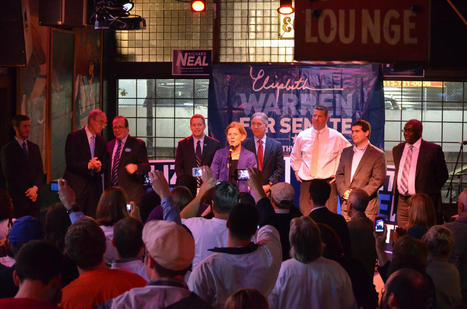 photo:Packed house at Theodore's to congratulate @elizabethforma on a strong debate in Springfield! | Massachusetts Senate Race 2012 | Scoop.it