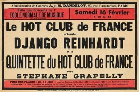 The Art of the Gig #68: Hot Club de France | Jazz Plus | Scoop.it