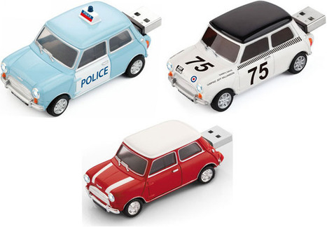 Zero Basic Mini Cooper Flash Drives are Perfect for Car Fans » Geeky Gadgets   GOSSIP, NEWS & SPORT!   Scoop.it