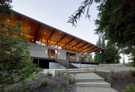 Sonoma Mountain House by Nielsen Schuh Architects | sustainable architecture | Scoop.it