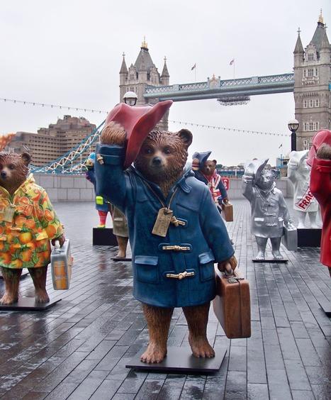 Sur les traces de l'ours Paddington à Londres !   Culture et dépendance   Scoop.it