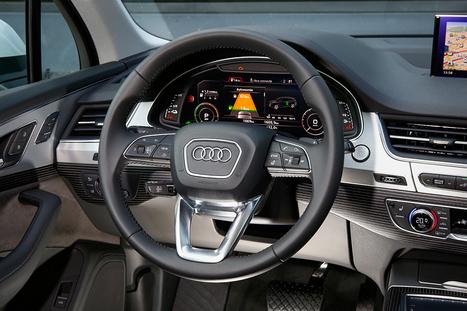 Audi Q7 e-tron : Test de la conduite semi-autonome de cette voiture hybride   Wallgreen - Louez moins cher et passez au vert !   Scoop.it