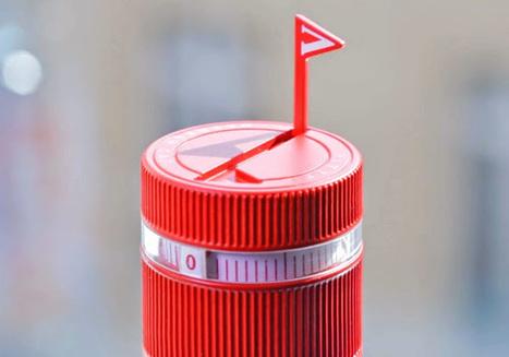 A garrafa que te lembra de beber água. | Design | Scoop.it