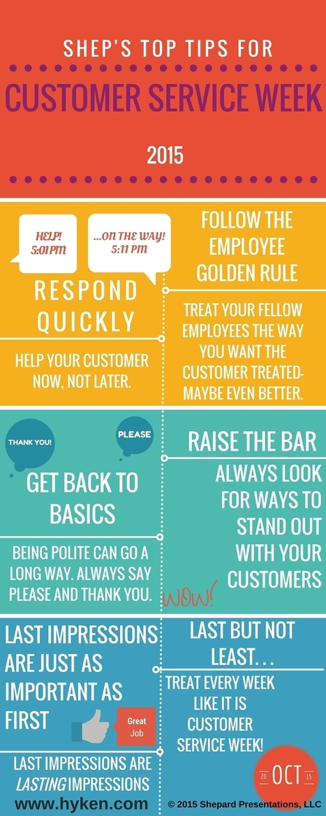 Top Tips for Customer Service [Infographic] | CustomerThink | Designing  service | Scoop.it