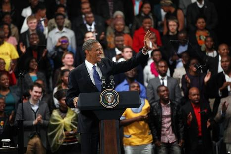 Obama Holds 'Town Hall,' Honors Mandela | Hawaii's News @ Twitter Speed! | Scoop.it