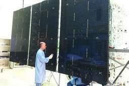 Gerador solar do CBERS-4 pronto para montagem no satélite | tecnologia s sustentabilidade | Scoop.it