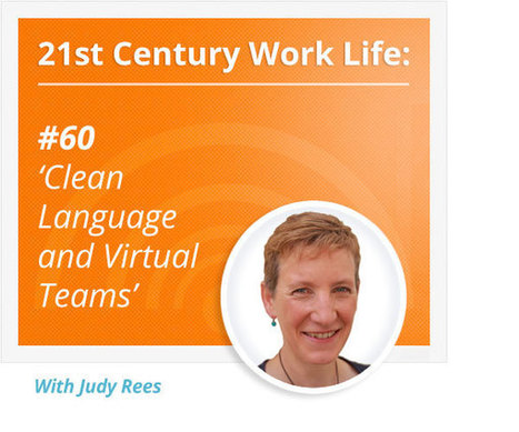 Podcast 60: Clean Language with Judy Rees - Virtual, not Distant | Clean Language | Scoop.it