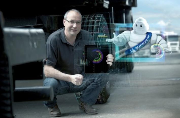 Michelin utilise le pneu connecté pour faciliter la gestion de flottes de véhicules | Internet du Futur | Scoop.it