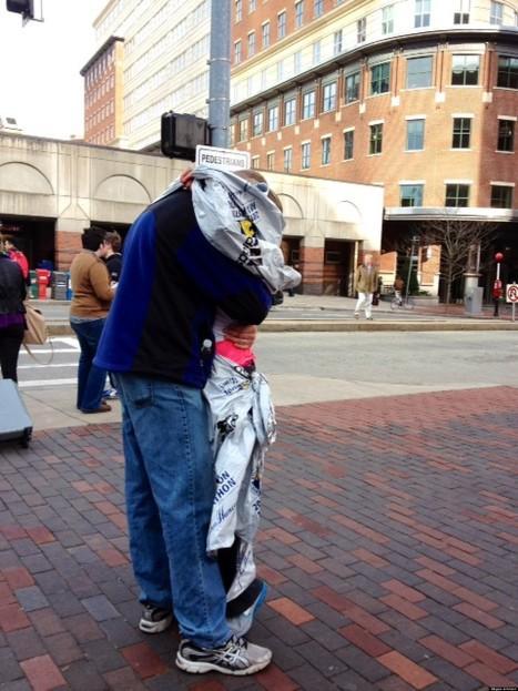 Boston: La photo (gratuite) des retrouvailles d'un couple fait le tour du monde | Les médias face à leur destin | Scoop.it