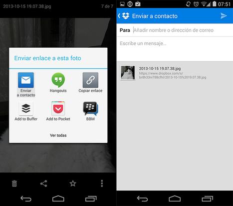 Dropbox se actualiza con feed de notificaciones y quier competir directamente con Evernote | BP | Scoop.it