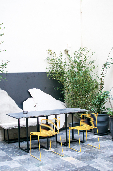 Urban Stay At The New In[n]Athens Hotel · Happy Interior Blog | Interior Design & Decoration | Scoop.it