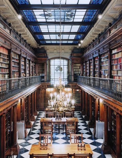 Les bibliothèques de Candida Höfer | La boite verte | bibliothèque 2.0 | Scoop.it