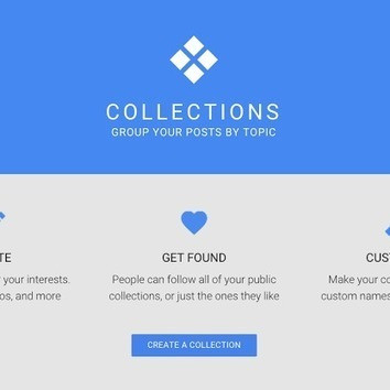 Google+ update: Collections for interests! | GooglePlus Expertise | Scoop.it