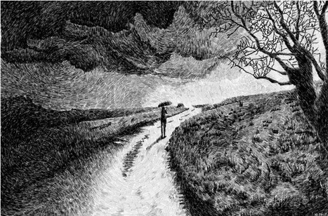 Drawings Made with Fingerprint Patterns by Nicolas Jolly...   Art for art's sake...   Scoop.it