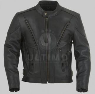 Black Bomber Jacket   You like leather jackets since nobody ignored it   Scoop.it