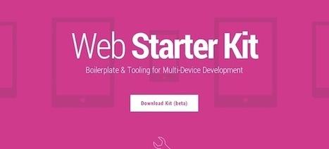 Google lanza Web Starter Kit con el objetivo de facilitar el diseño web en múltiples dispositivos | Pasión y aprendizaje | Scoop.it